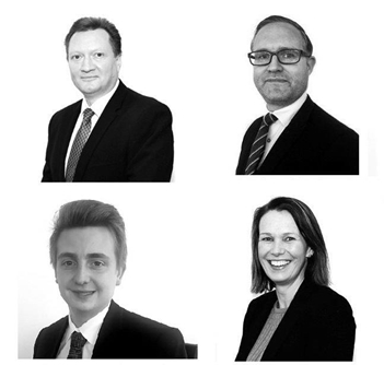 Our sales team headed by Phil Lane, Russell Palmer- Valuations Manager, Tom Bailey Smith and Sadie Bithray - Residential Sales Manager