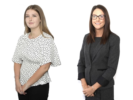 Lettings Manager - Katie Darby and Kay Afeku our Lettings Negotiator