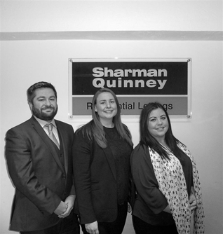 Sarah Goodfellow (Lettings Branch Manager) Samuel Lowings (Excecutive Mortgage Consultant) Kirsty Turner (Lettings Negotiator)