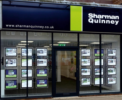 Sharman Quinney Estate agents in Ortongate Shopping Centre