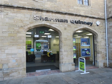 Sharman Quinney Estate agents in Oundle