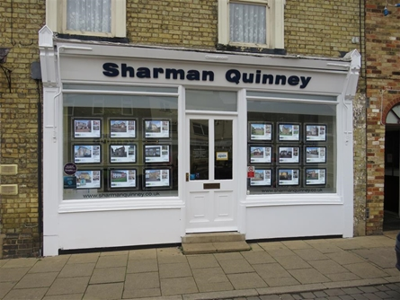 Sharman Quinney Estate Agents Ramsey branch.