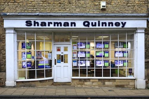 Sharman Quinney are your local estate agent with local knowledge. Their professional, dedicated and experienced team in Stamford are here to help you.