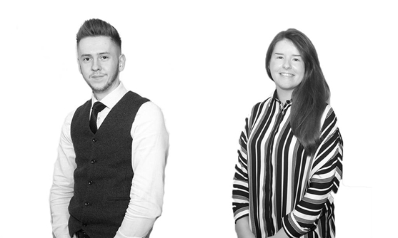 Our Team (L-R) Gemma Paine (Manager)